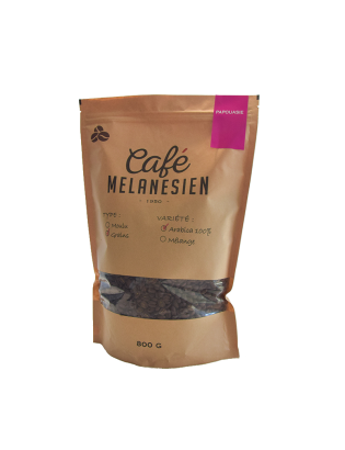 Café Mélanésien Factory 100% Arabica - Grains